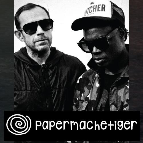 PaperMacheTiger